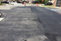 Wildcat was the asphalt contractor in magnolia for the job pictured here